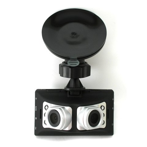 Автовидеорегистратор с двумя камерами Tenex DVR-615 FHD ManEye