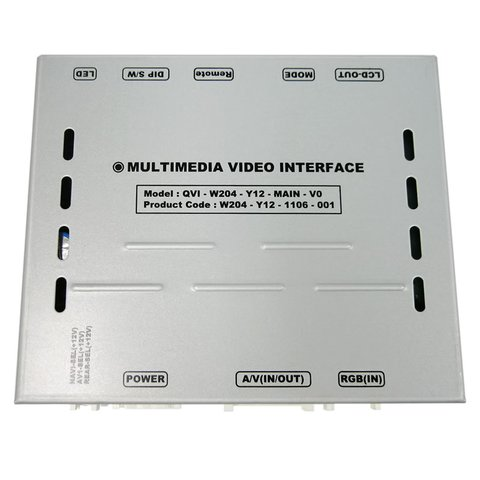 Car Video Interface for Mercedes Benz C Class W204  2011 2012