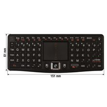 Wireless Mini Keyboard - Short description
