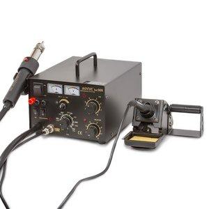 Hot Air Soldering Station AOYUE 909 + Power Supply + Soldering Iron (110V)