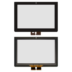 Touchscreen for Sony Xperia Tablet S (SGPT111), Xperia Tablet S (SGPT112), Xperia Tablet S (SGPT113), Xperia Tablet S (SGPT114) Tablets, (black)