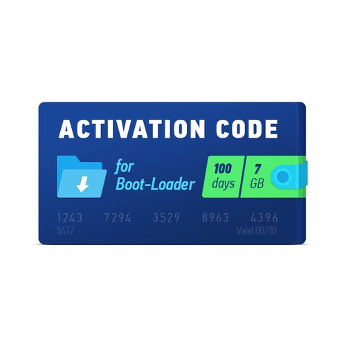 Boot-Loader 2.0 Activation Code (100 days, 7 GB)