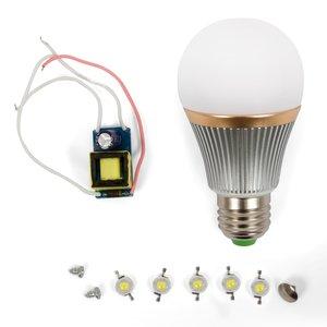 LED Light Bulb DIY Kit SQ-Q22 5 W (natural white, E27)