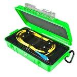 Bobina de compensación con cable para reflectómetro (OTDR) ORIENTEK FL-OTDR-BOX-SM710