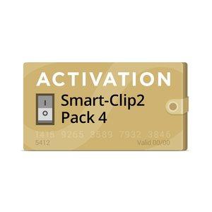 Activación Pack 4 para Smart-Clip2