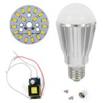 Juego de piezas para armar lámpara LED SQ-Q17 9 W (luz blanca cálida, E27)