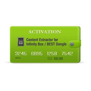 Активация Content Extractor для Infinity-Box/Dongle, BEST Dongle