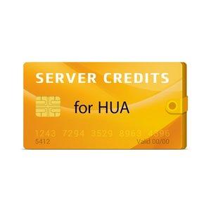 Серверные кредиты Hua