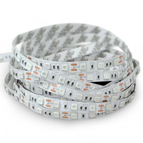 Світлодіодна стрічка SMD5050 ультрафіолет, 300 світлодіодів, 12 В DC, 5 м, IP20
