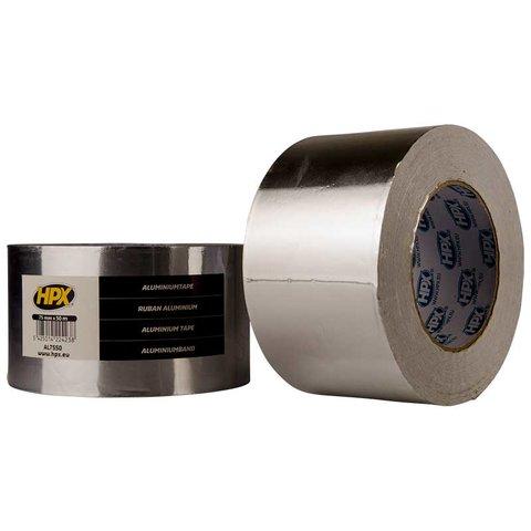 Стрічка алюмінієва одностороння HPX 75 мм, 50 м, 0,04 мм